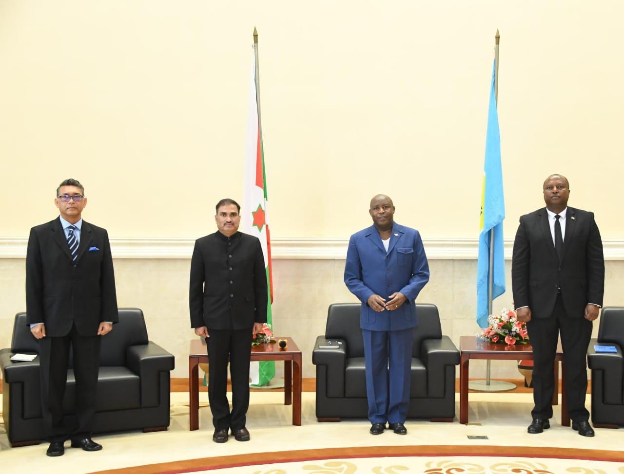 L'Egypte et l'Inde prêts à appuyer le Burundi