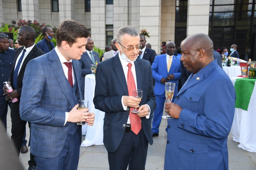 Discours de SE Evariste Ndayishimiye lors de l'échange de vœux avec le corps diplomatique