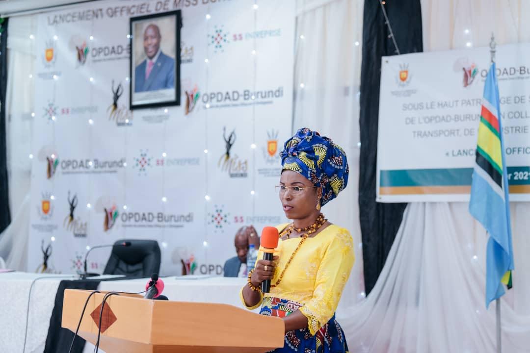 "Burundi First Lady launches the ""Miss Burundi"" competition, 2021 edition"