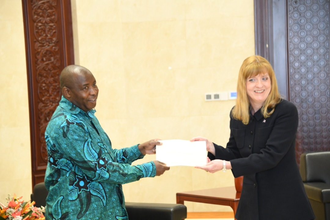 Nouvel Ambassadeur des Etats-Unis au Burundi