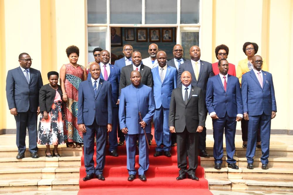 Le nouveau Ministre de l'Education Nationale prête serment devant le Chef de l'Etat