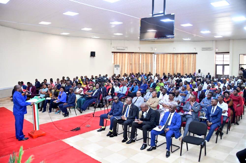 Son Excellence Evariste Ndayishimiye entame une campagne nationale de moralisation sur la bonne gouvernance