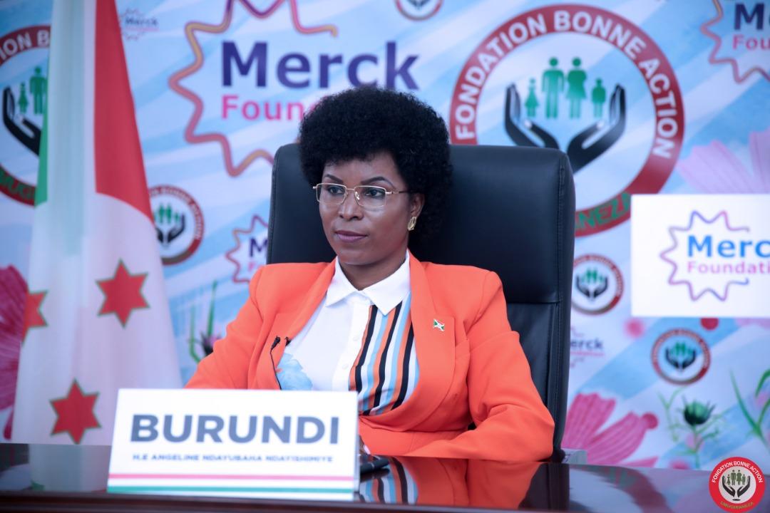 La Première Dame du Burundi prend part à la 8eme édition de MERCK Foundation Africa Asia Luminary