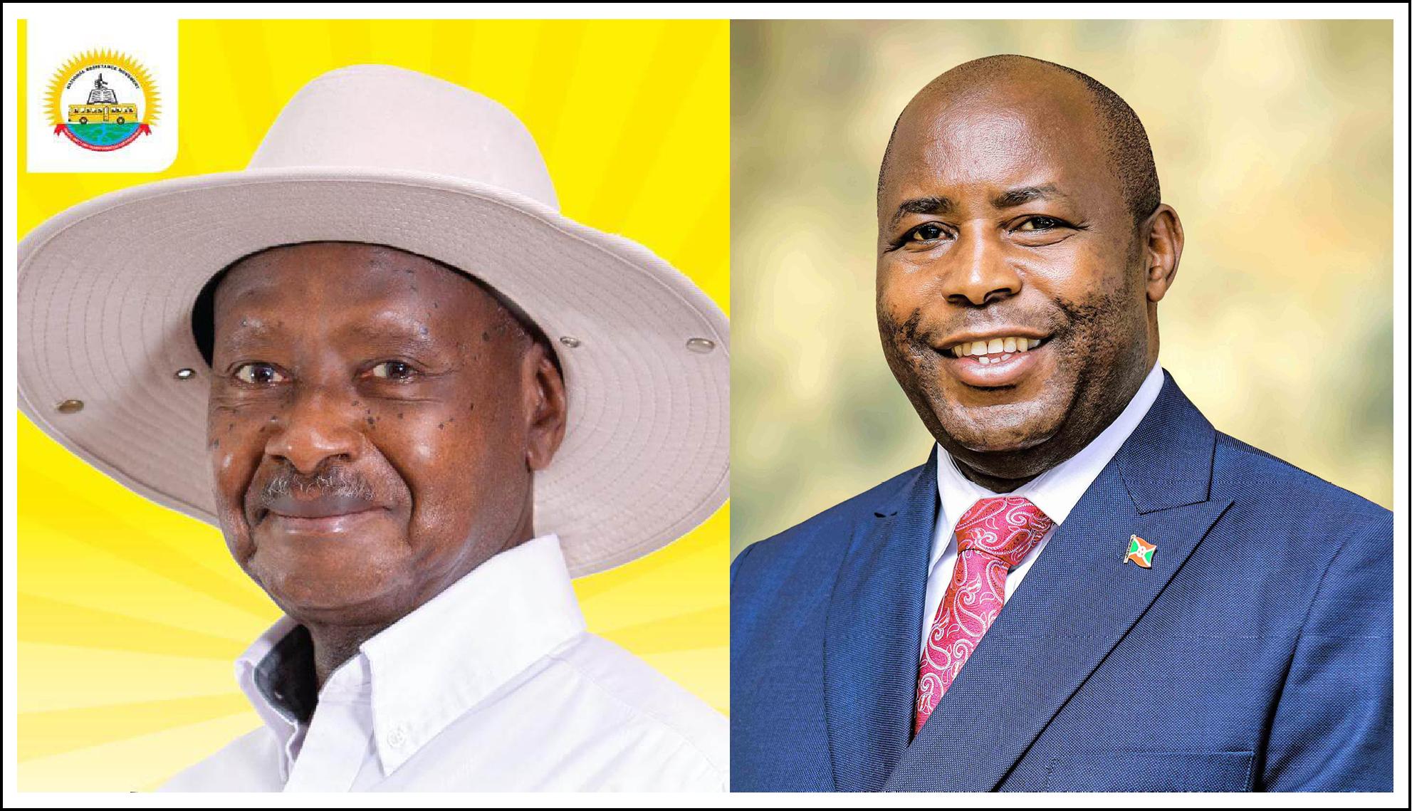 Les Chefs D'Etat Burundais et Ougandais satisfaits de la production agricole dans leurs pays respectifs