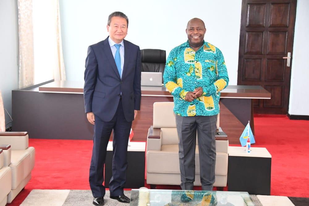 Le Président de la République reçoit en audience l'Envoyé Spécial du Secrétaire Général de l'ONU dans la Région des Grands Lacs