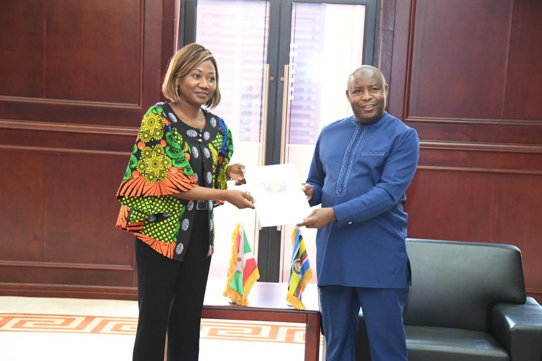 Le Président Ndayishimiye reçoit un message de son homologue Centrafricain