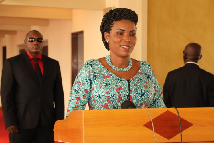 The First Lady satisfied with the results of her visit to Benin