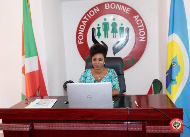 Burundi First Lady takes part in the Annual Summit Burundi – MERCK Foundation 2021