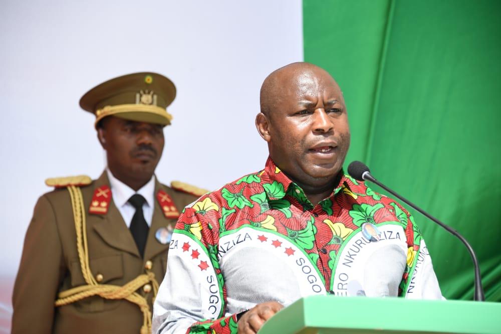 Discours prononcé par Son Excellence Evariste Ndayishimiye à l'occasion de la levée de deuil définitive de feu Pierre Nkurunziza et de la célébration de la Journée Nationale du Patriotisme