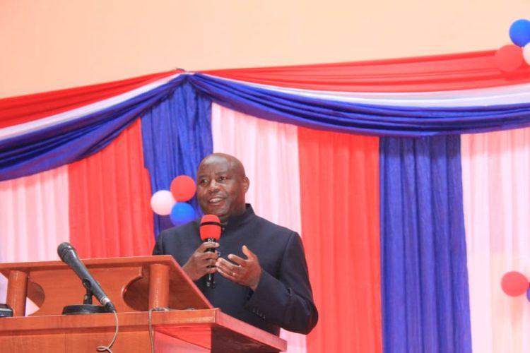 Le Président Ndayishimiye prône le respect du temple de Dieu