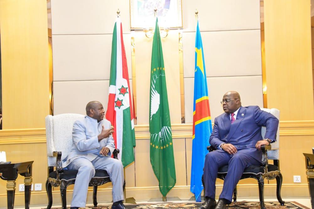 Communiqué conjoint relatif à la visite d'Etat de SE le Président Evariste Ndayishimiye en République Démocratique du Congo, du 12 au 14 juillet 2021