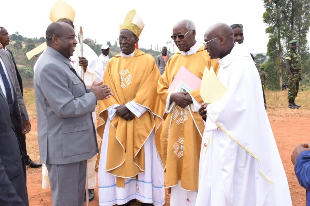 Le Chef de l'Etat salue la contribution de l'Eglise Catholique dans le développement socioéconomique du pays