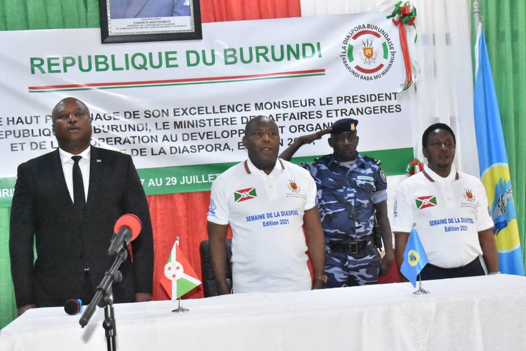 Le Président Ndayishimiye rappelle à la diaspora de payer sa dette morale envers son pays