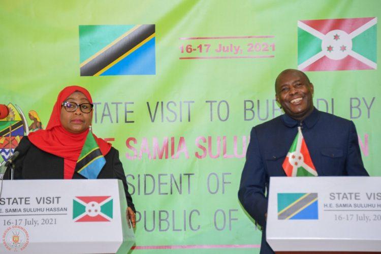 State visit of President Samia Suluhu to Burundi: Eight cooperation agreements signed