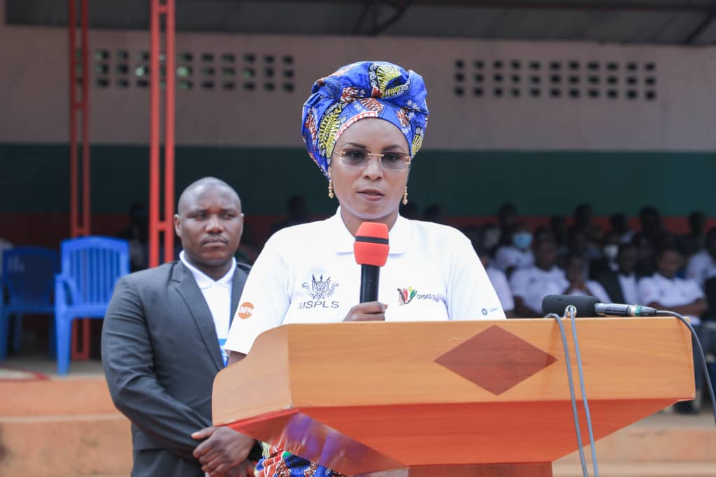 La Première Dame demande aux leaders de s'approprier du programme national de santé de la reproduction