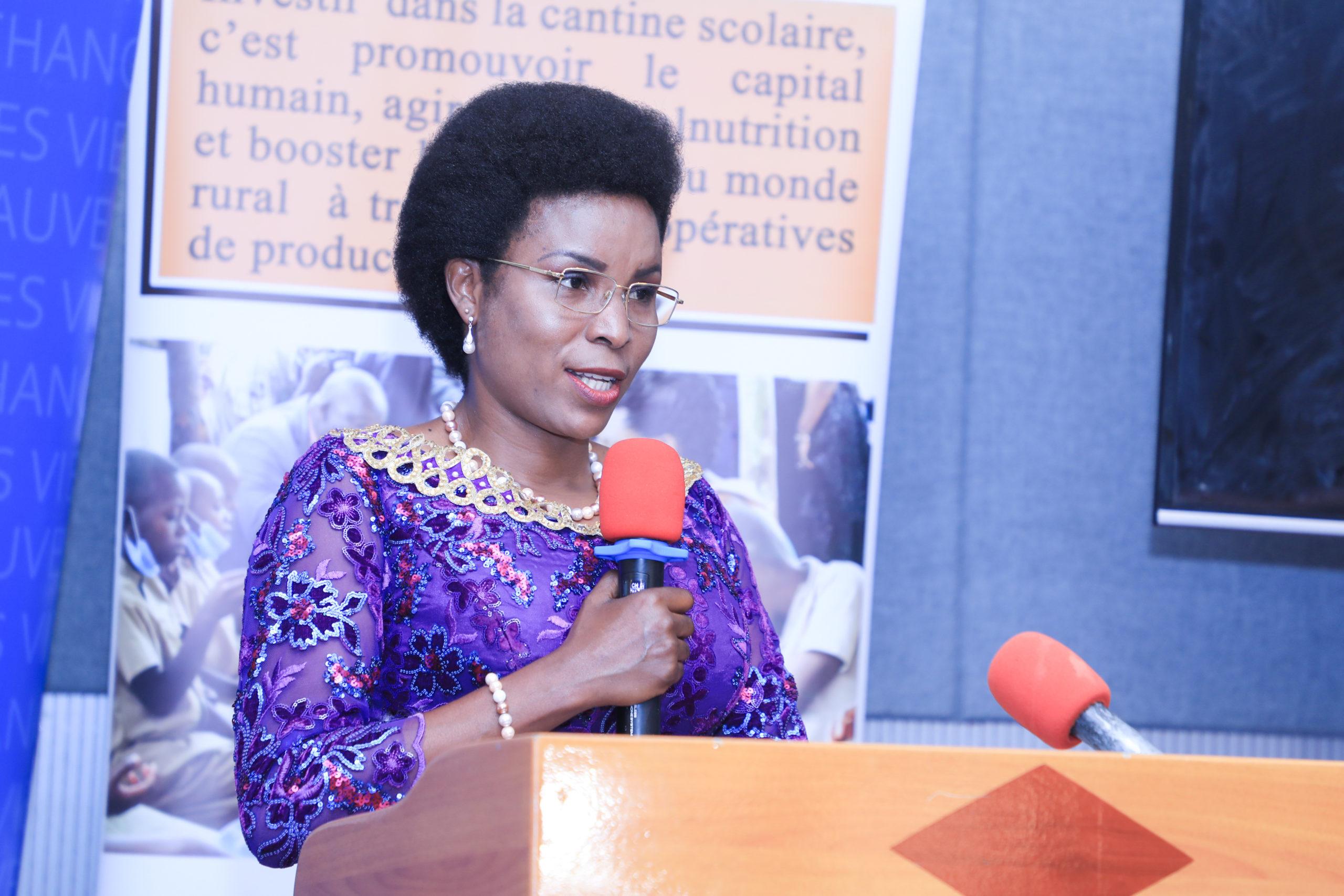 La Première Dame appelle à une forte mobilisation pour soutenir le Programme National d'Alimentation Scolaire