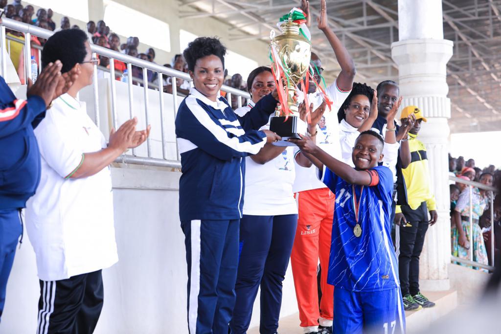 Makamba abrite la 1ère édition de la Coupe de la Première Dame