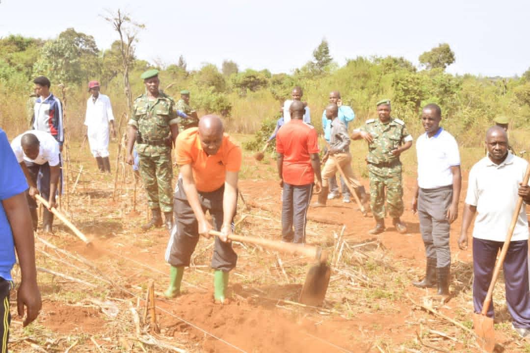 Le Vice-président burundais exhorte la population à s'impliquer davantage dans le développement socio-économique.