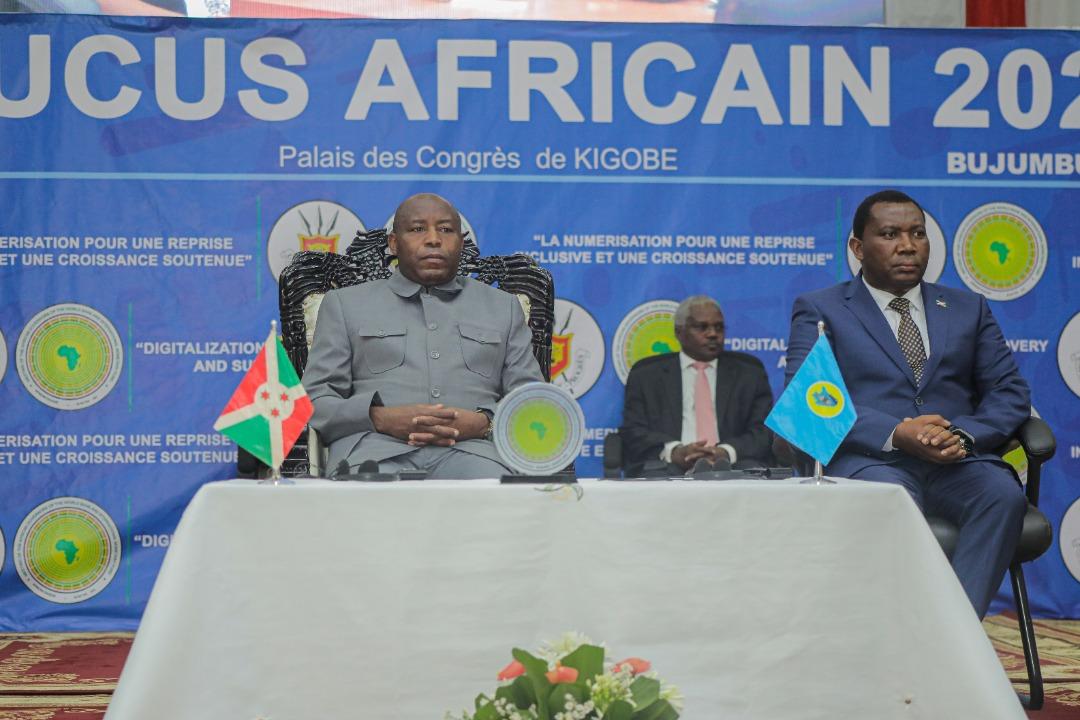 Discours de SE Evariste Ndayishimiye lors de l'ouverture du Caucus Africain, édition 2021