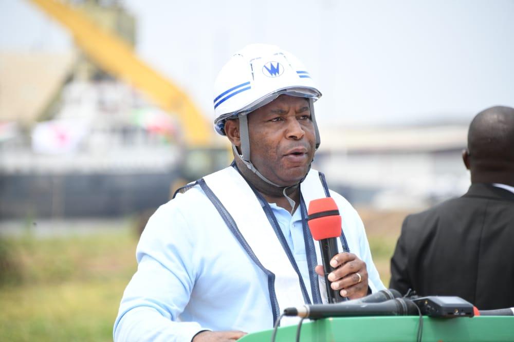 Discours du Président Evariste Ndayishimiye lors du lancement des travaux d'extension et de modernisation du Port de Bujumbura